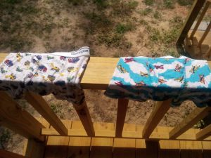 Toddler boxer briefs by Fruit of the Loom.